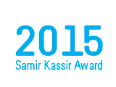 Samir Kassir Award 2015