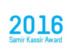 Samir Kassir Award 2016